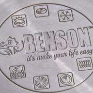 Набор кастрюль (2,1л,  2,9л, 3,9л) из нержавеющей стали Benson 6 предметов BN-205 - Набор кастрюль (2,1л,  2,9л, 3,9л) из нержавеющей стали Benson 6 предметов BN-205