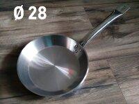 Сковорода из нержавеющей стали - 28 см. Benson BN-637