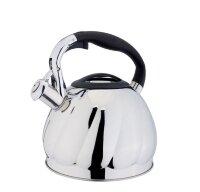 Чайник (нержавейка) 3л со свистком - Edenberg - EB-1906
