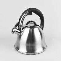 Чайник (нержавейка) 2,2л со свистком - Maestro - MR-1320-S
