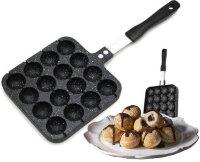 Сковорода для пончиков Мраморное покрытие  Edenberg EB-7516