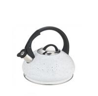 Чайник (нержавейка) 3л со свистком - Edenberg - EB-8812 - Белый