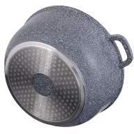 Набор посуды из 10 предметов (кастрюли, ковш, сковорода) Edenberg с гранитным покрытием Серый EB-8110 - Набор посуды из 10 предметов (кастрюли, ковш, сковорода) Edenberg с гранитным покрытием Серый EB-8110