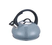 Чайник (нержавейка) 3л со свистком - Edenberg - EB-8812 - Серый