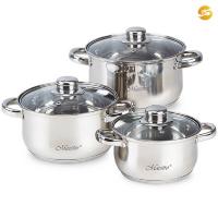 Набор посуды из 6 предметов Maestro из нержавеющей стали MR-2020-6M