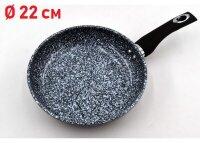 Сковорода Гранитное покрытие без крышки - 22 см. Benson BN-510